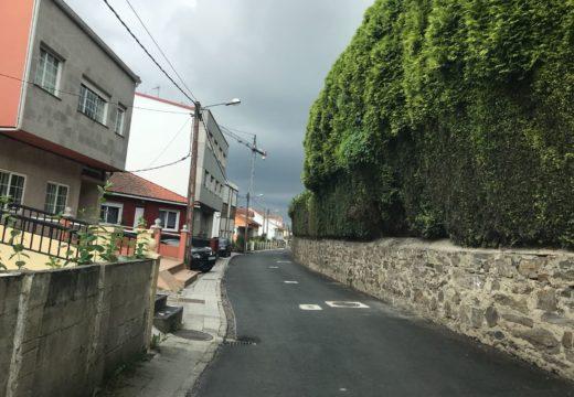 Remata a obra de mellora da seguridade vial nos camiños públicos de Os Currás, Acaroada, Bandeboo, Lendoiro, Peiraio e Bribes
