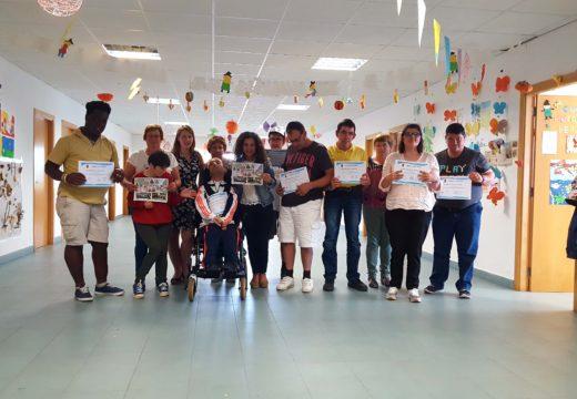 Festa de clausura do curso de habilidades sociais