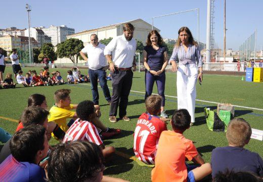 A liña de acción 'Xogar en Verde' da campaña verdear fomenta que os eventos deportivos sexan cada vez máis sustentables