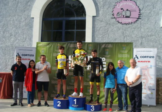 Manuel Sanpedro gaña o I Premio Minas de San Finx de Ciclismo