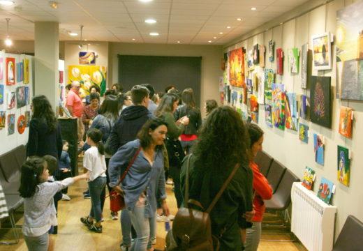 O Museo do Traxe inaugura mañá a exposición dos alumnos e alumnas das clases de pintura organizadas polo Concello
