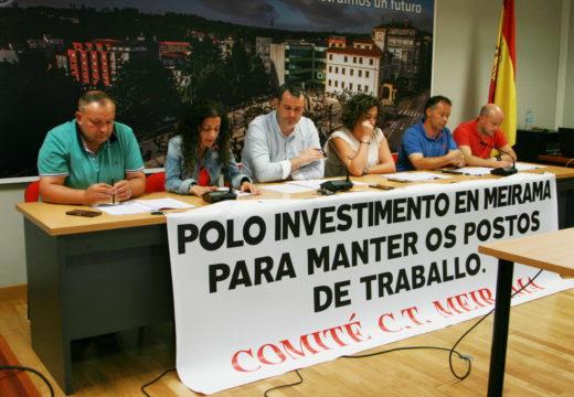 O Pleno de Ordes mostra o seu apoio aos traballadores e traballadoras da Central Térmica de Meirama