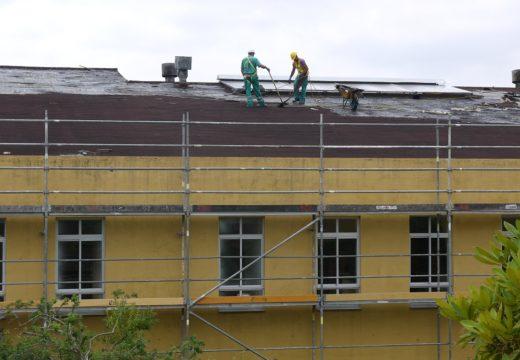 Xa comenzaron as obras de rehabilitación enerxética do CPI Plurilingüe Fonte Díaz de Touro