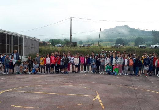Preto de 80 cativos e cativas de Boqueixón e Vedra iniciaron os seus campamentos da Acción de Verán'18