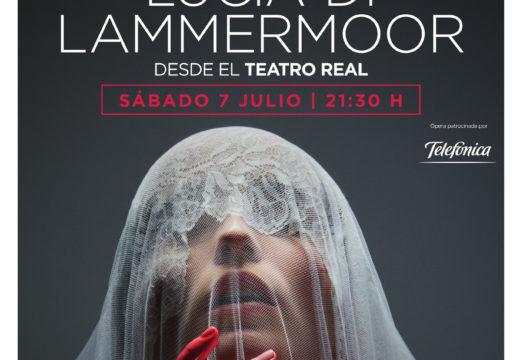 Retransmisión da ópera Lucia de Lammemoor dende o Teatro Real