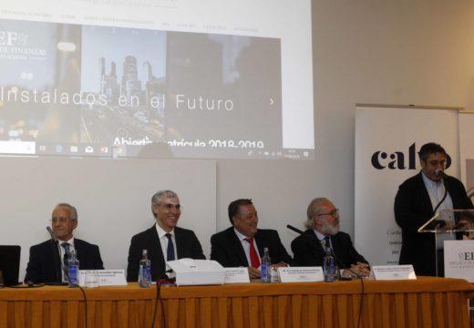 Conde sinala que a formación de calidade é clave para que Galicia sexa cada vez máis forte e competitiva