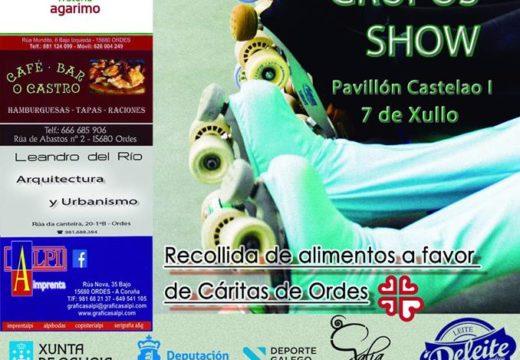 IV Trofeo Concello de Ordes de grupos show de patinaxe