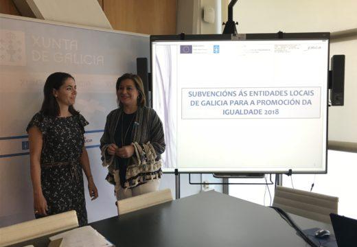 A Xunta destina máis de 1,2 millóns de euros a fomentar a promoción da igualdade nos concellos da provincia da Coruña