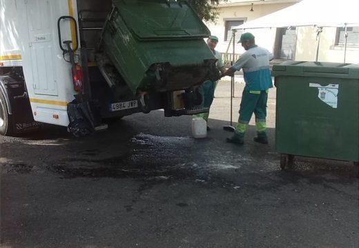 O Concello de Boqueixón acomete a limpeza de máis de 700 colectores de lixo