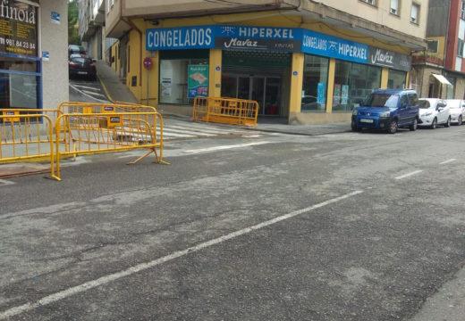 O Concello de Noia aproveitará as obras de remodelación das beirarrúas na rúa República Arxentina para facer melloras na rede de abastecemento de auga