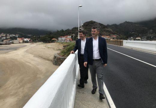 A Xunta remata as obras da Ponte do Xallas na que se investiron 420.000 euros