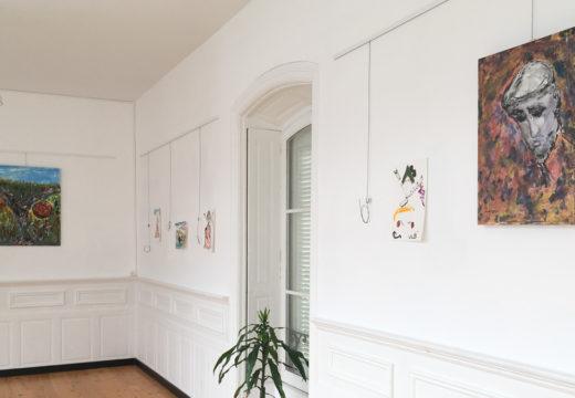 Antón Meizoso expón ata finais de mes en San Sadurniño unha mostra da súa obra pictórica