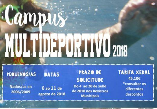 Cambre organiza un campus multideportivo en agosto