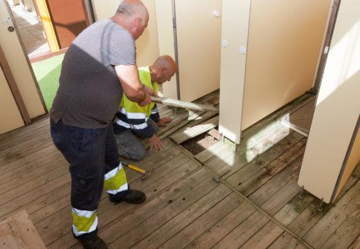 Moeche reforza a súa brigada de obras e servizos con cinco traballadores temporais