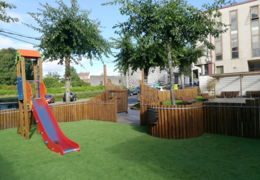 Novo aspecto para o parque Herminio Rial