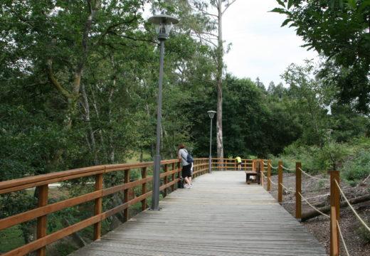 Novo aspecto e melloras no paseo fluvial Ramiro Recouso Liste