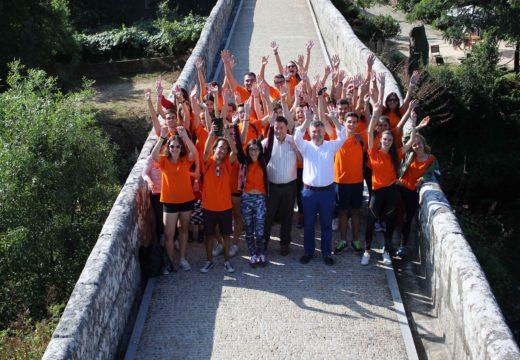 Un total de 25 mozos e mozas de 5 nacionalidades participan no campo de traballo organizado polo Concello de Boqueixón