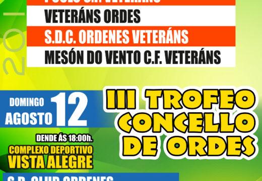 Esta fin de semana terán lugar o III Trofeo San Roque e o III Trofeo Concello de Ordes