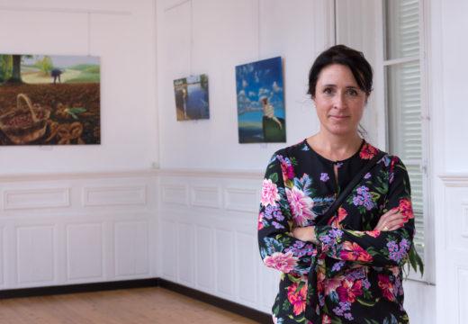 Catalina Martín exhibe na galería do Concello de San Sadurniño a súa querencia polo realismo