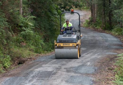 San Sadurniño inicia un novo proxecto de reparación viaria acollido ao POS Adicional 2017
