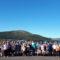 Sesenta veciños e veciñas de Frades participan nunha excursión ao Ézaro e Muros