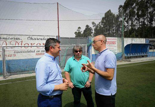 A Xunta investirá case 500.000 euros en diferentes actuacións paisaxísticas, medioambientais e de mellora de equipamentos nos concellos de Bergantiños e Costa da Morte