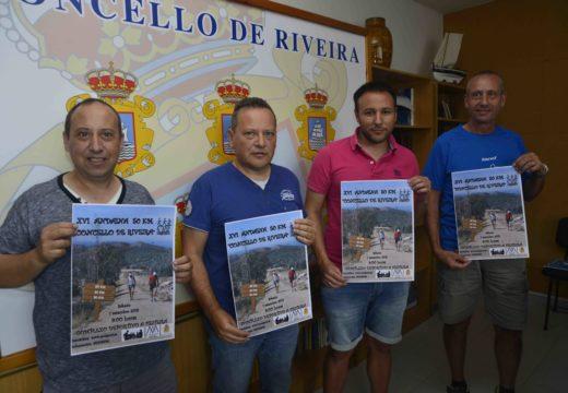 PERCORRIDOS DE 20, 30, 40 E 50 QUILÓMETROS NA XVI ANDAINA POPULAR CONCELLO DE RIVEIRA