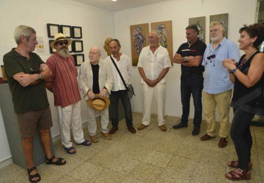 """A Exposición """"Mestura"""" exhibe a obra de cinco artistas na galería O Faiado"""