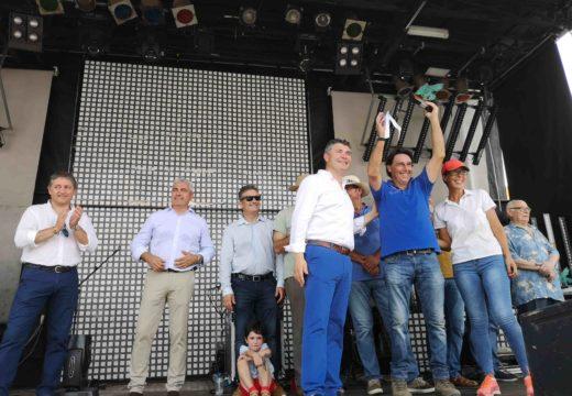 Ovidio Rodeiro pon en valor á recuperación das especies autóctonas galegas no pregón da XIX Festa do Galo Piñeiro e Mostra Cabalar de O Pino