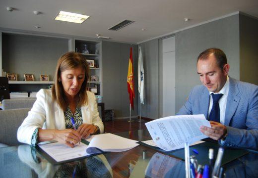 Medio Ambiente e o Concello de Padrón asinan o convenio polo que se investirán 250.000 euros no saneamento de catro parroquias