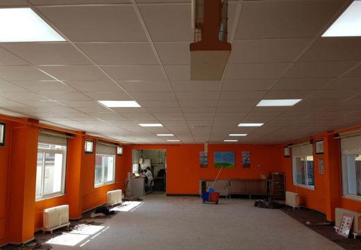 O Concello de Frades inviste 30.000 euros na habilitación dun patio interior e renovar o teito do comedor do CPI Ponte Carreira