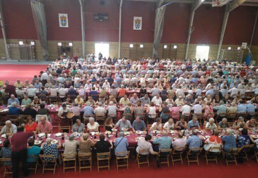 Un total de 530 persoas participaron na XXX Festa dos Maiores de Brión