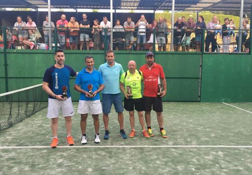 Javier Méndez e Pedro Vieites repiten vitoria no Campionato de Pádel do Concello de Frades