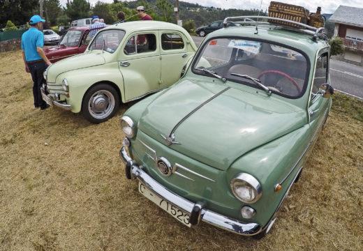 60 vehículos reuniranse este sábado na concentración de clásicos de Naraío