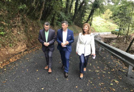 A Xunta investiu en Ferrolterra máis de 950.000 euros a través do Plan Marco de mellora de camiños municipais