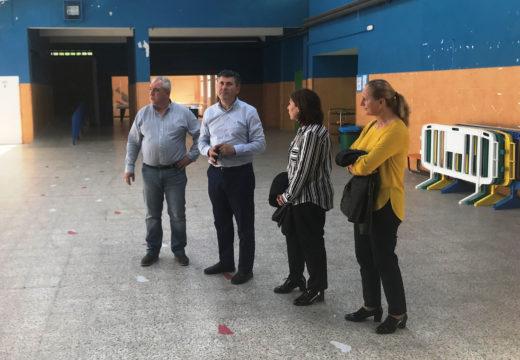 OVIDIO RODEIRO VISITA O CPI VIRXE DA CELA EN MONFERO, UN CENTRO EDUCATIVO DE REFERENCIA NA COMARCA