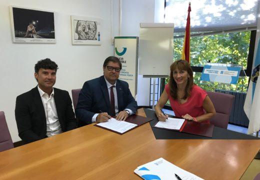 """A Fundación Deporte Galego e a Universidade da Coruña crean a Cátedra """"S.X.D. Galicia Activa"""""""