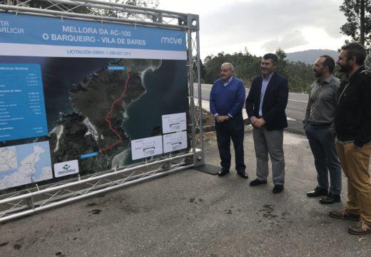 A Xunta remata as obras de mellora da estrada que vai desde O Barqueiro ata o Porto de Bares para recibir á Volta Ciclista a España
