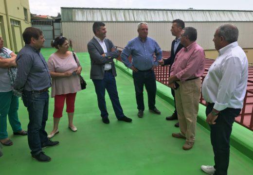 A Xunta executa obras de mellora en mais de 30 centros educativos da área de Ferrol cun investimento de arredor de dous millóns de euros
