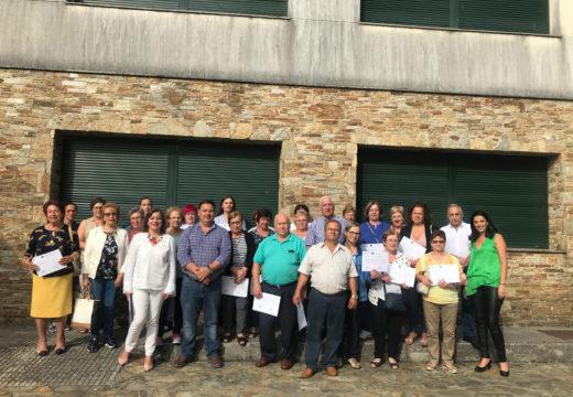 Entregados en Frades os diplomas dos cursos do Programa Neneiras, dirixidos a aumentar a integración social e laboral da muller do rural