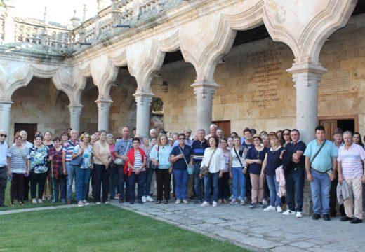 Veciños e veciñas de Touro coñecen Zamora e Salamanca