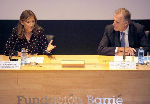 A Conselleira de Educación participa na xornada de Educación Infantil que organiza a Fundación Barrié