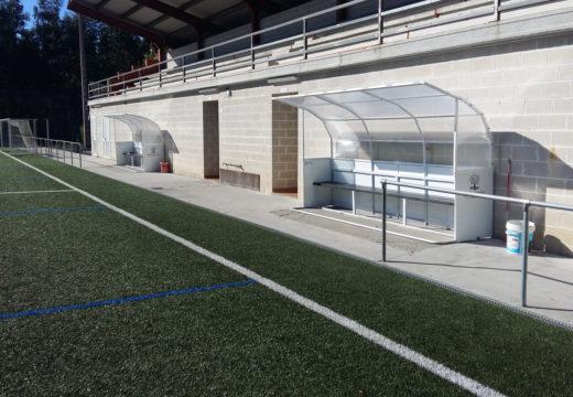 O Concello de San Sadurniño inviste preto de 30.000 euros na área recreativa e deportiva dos Currás