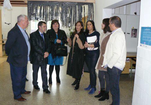O Concello de Lousame e a Consellería e Educación asinarán un convenio de colaboración para substituir a cuberta do polideportivo Pilar Barreiro Senra