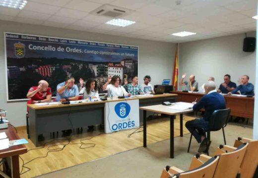 Apoio institucional do Pleno de Ordes en contra da instalación do vertedoiro de Lesta