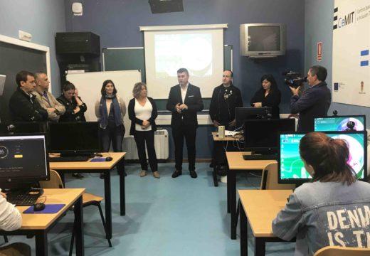 Ovidio Rodeiro destaca en As Pontes que o obradoiro de emprego de creación de páxinas web formará a 12 alumnos cun apoio da Xunta de 115.000 euros