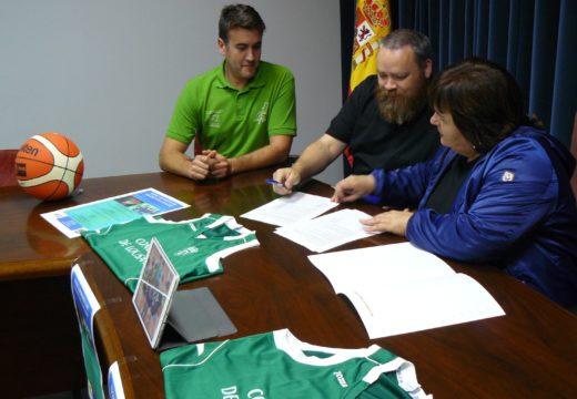 O Concello de Lousame e o Club de Baloncesto Porto do Son asinan un convenio de colaboración para o fomento deste deporte