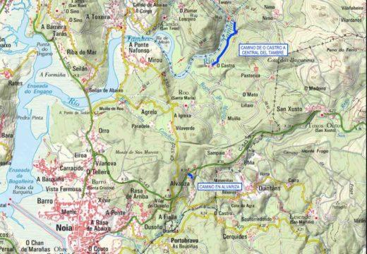 O Concello de Noia investirá máis de 50.000 euros na mellora do camiño de Castro e a Central do Tambre e nun camiño en Alvariza
