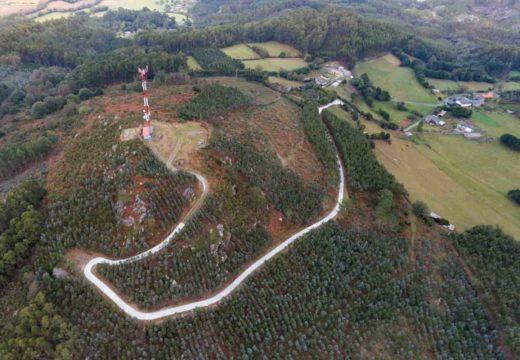 O Concello de San Sadurniño finaliza a reparación do acceso ao Pico de Ferreira