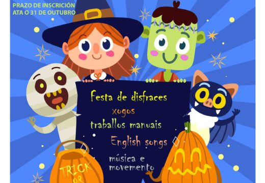 Ábrese o prazo de inscrición para o Halloween Camp